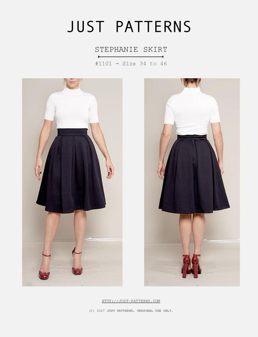 Just Patterns - Stephanie Skirt Cover