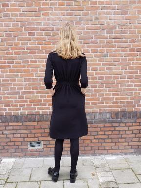 Just Patterns Linda Wrap Dress Anneloes