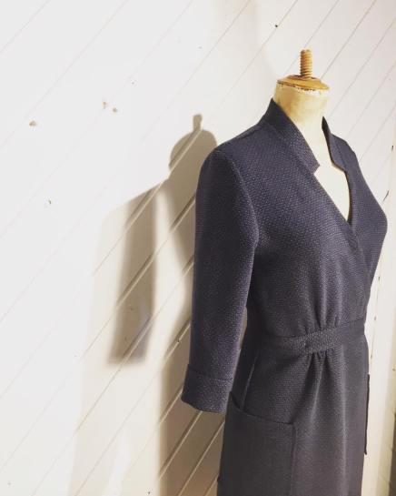 Just Patterns Linda Wrap Dress Beautifully Handmade