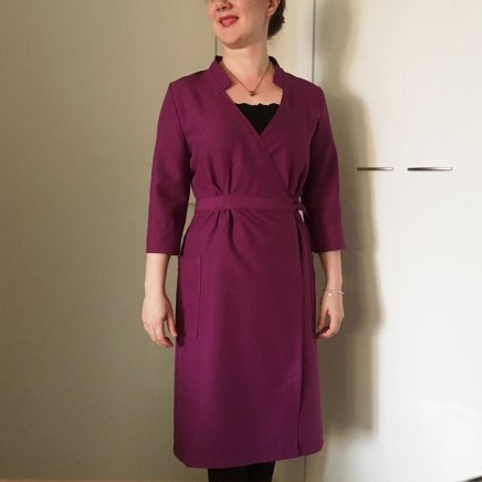 Just Patterns Linda Wrap Dress by Ompeleomaonnessi