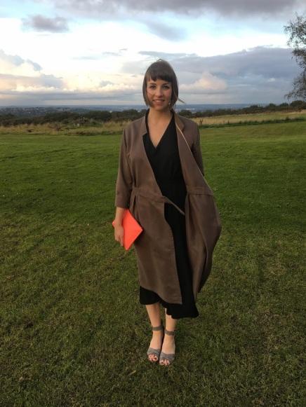 Just Patterns Linda Wrap Dress by Shauni
