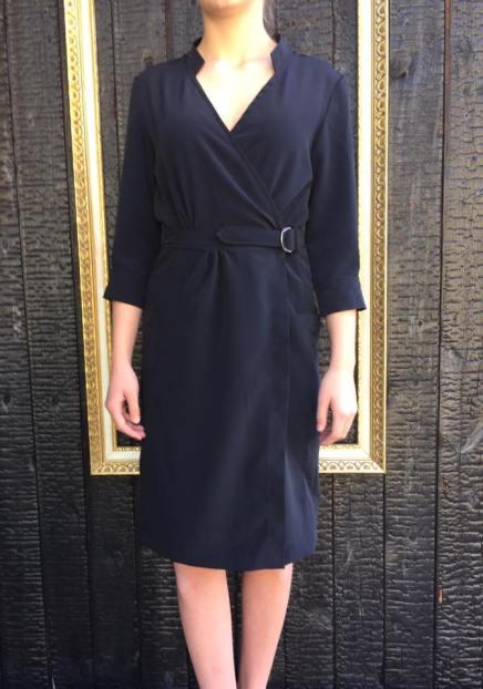 Just Patterns Linda Wrap Dress Tara