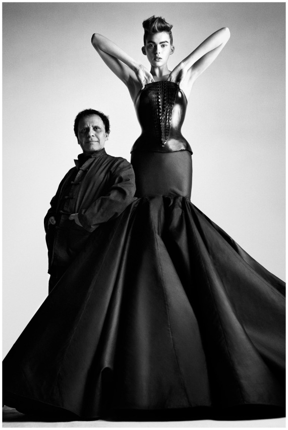 Azzedine Alaia by Patrick Demarchelier