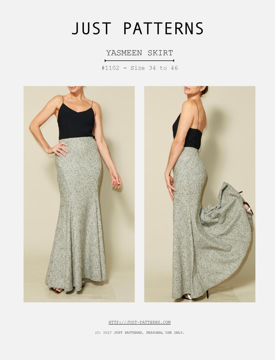 Just Patterns - 1102 - Yasmeen Skirt Information-page-001