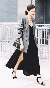 Slipdress blazer